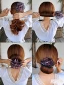 盤髮器 盤髮器丸子頭造型器韓國頭飾花苞頭神器百變蓬鬆懶人髮帶扎頭髮飾 中秋降價