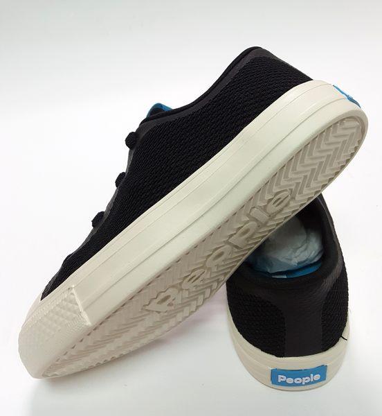 PEOPLE THE STANLEY KIDS 休閒帆布鞋 《7+1童鞋》6032黑色