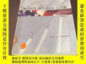 二手書博民逛書店Mass罕見Media Law (2003 2004)Y2570