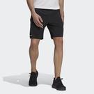 Adidas Th Short Wv Id [GU1744] 男 短褲 運動 健身 訓練 休閒 舒適 透氣 拉鍊口袋 黑