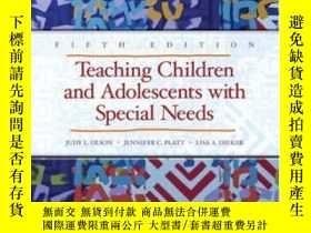 二手書博民逛書店Teaching罕見Children And Adolescen