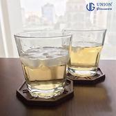 泰國UNION 八角杯 306ml 玻璃杯 啤酒杯 飲料杯 水杯 酒杯 冰咖啡杯