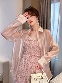 人魚姬偏光防曬衣女夏季2021年新款韓版寬松長袖上衣薄款開衫外套 蘿莉新品