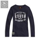【Roush】 女生ROUSH美式字樣長TEE -【2012506-1】