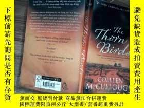 二手書博民逛書店The罕見Thorn Birds(頁面黃Y206421 Colleen McCullough(考琳·麥卡洛)