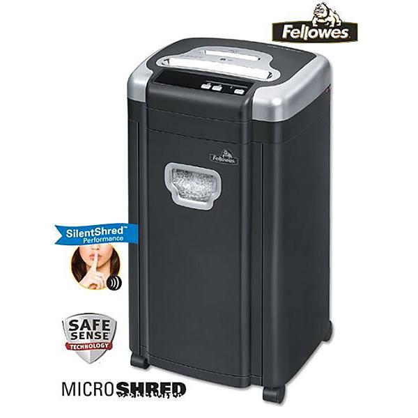 名人藝人最愛【美國Fellowes MS-460Cs】頂級短碎型靜音專業碎紙機(可碎光碟信用卡) (僅宅配)