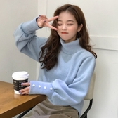 日系毛衣女秋冬新款韓版寬鬆外穿慵懶風網紅長袖針織衫上衣潮 雅楓居