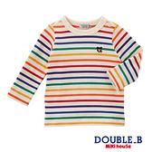 DOUBLE_B Everyday經典條紋百搭長袖T恤(多色)