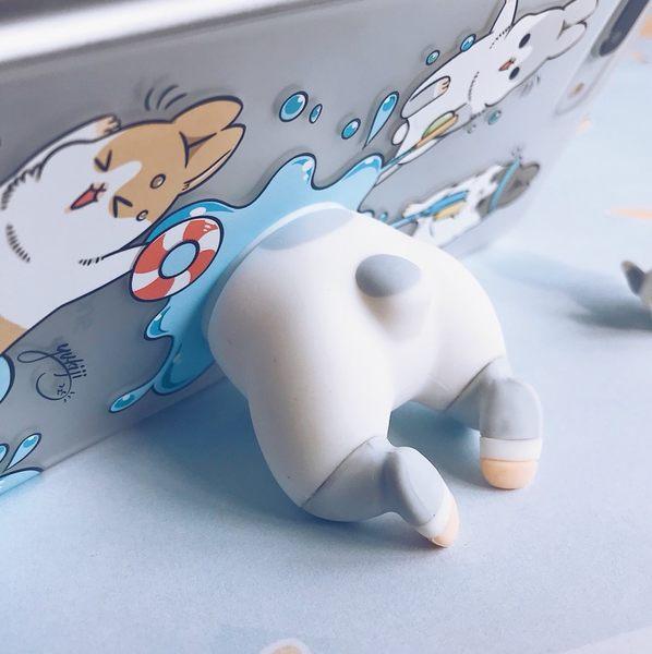 【machiko – 軟軟好ㄇㄚ˙幾 】吸盤 手機架 手機座 交換禮物 兔子屁股 聖誕禮物 WaKase