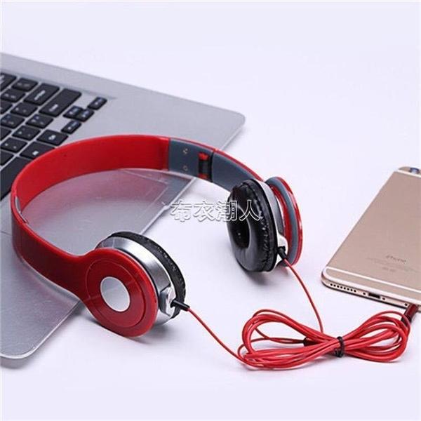 高音質頭戴式耳機有線帶麥吃雞游戲K歌OPPO華為vivo安卓手機通用 快速出貨 快速出貨