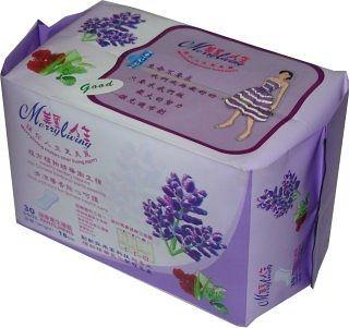 美麗人生 複方植物精油衛生護墊30片/包
