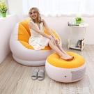 懶人沙發 INTEX懶人沙發 折疊床懶人椅單人沙發床電腦椅飄窗椅豆袋充氣沙發 【棉花糖伊人】
