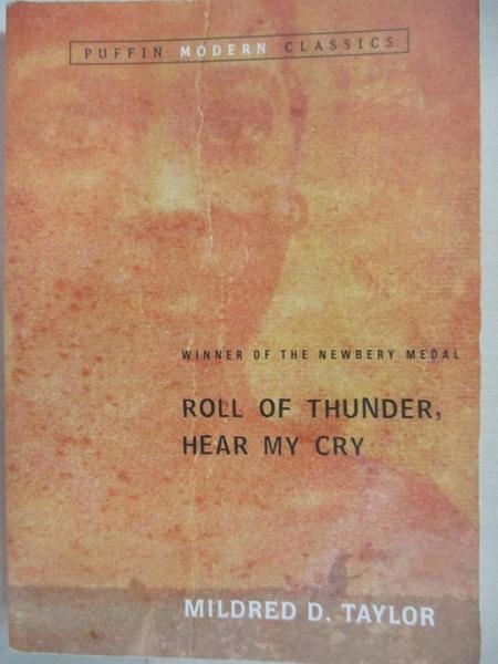 【書寶二手書T2/少年童書_HSI】Roll of Thunder, Hear My Cry_Taylor, Mildred D./ Pinkney, Jerry (INT)