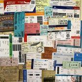 行李箱貼紙~55張復古登機牌行李箱貼紙車票船票旅行紀念標簽郵戳貼畫拉桿箱貼-薇格嚴選