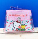 【震撼精品百貨】Hello Kitty_凱蒂貓~Sanrio HELLO KITTY防水迷你手拿包-透明櫻桃#05840