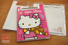 Hello Kitty PP板夾附信紙 (小提琴)