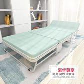 易瑞斯摺疊床單人床辦公室午休床簡易家用1.5米雙人床海綿沙發床WY【快速出貨】