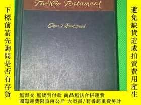 二手書博民逛書店1936年罕見《The New Testament》精裝一冊全