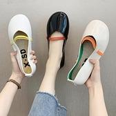 娃娃鞋 平底單鞋女新款夏季韓版配裙子休閒軟底百搭防滑 - 古梵希