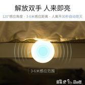 夜燈 自動紅外人體感應燈泡led智慧過道樓梯樓道走廊聲控車庫應急吸頂
