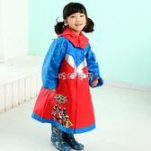 兒童雨具 卡通雨披連帽環保透氣輕便6-7-8歲小學生防 珍妮寶貝