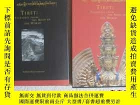 二手書博民逛書店TIBET罕見Treasures From the Roof o