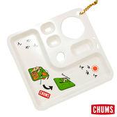 CHUMS 日本製 野餐露營餐盤 象牙白 CH621003W004