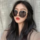 墨鏡女2019新款潮韓版圓形圓臉顯瘦網紅街拍個性複古ins太陽眼鏡