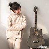 民謠吉他初學者學生成人入門自學38寸41寸木吉他男女生吉它 aj5346『美好時光』