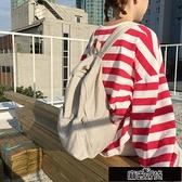 後背包 韓版潮新款雙肩包學院風書包chic帆布包女背包百搭休閒包【新年盛惠】