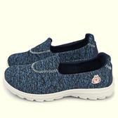 童鞋城堡-卡娜赫拉 女款 輕量彈力休閒鞋KI8334 藍/黑 (共二色)