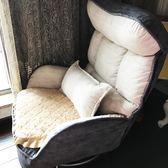 餵奶椅 懶人沙發喂奶椅子單人可旋轉哺乳椅小戶型陽臺休閑椅臥室看書沙發 童趣屋
