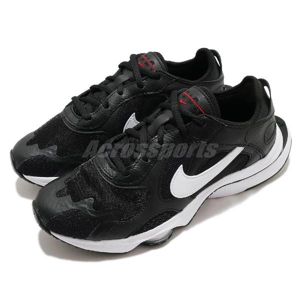Nike 休閒鞋 Wmns Air Zoom Division 黑 白 女鞋 復古慢跑鞋 氣墊 運動鞋 【ACS】 CK2950-002