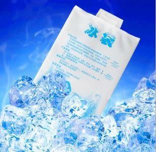 航空冰袋理降溫注水冰袋/冰包母乳保鮮冷藏降溫冰袋/保溫袋(400ml) 5元
