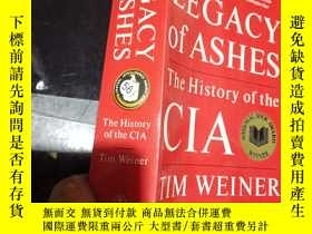 二手書博民逛書店Legacy罕見of Ashes:The History of