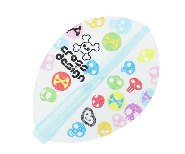 【Fit Flight AIR x CrossDesign】GumiGumi TearDrop Clear Blue 鏢翼 DARTS