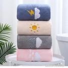 浴巾家用比純棉吸水速干不掉毛男女裹巾嬰兒童加厚情侶大毛巾套裝 【優樂美】