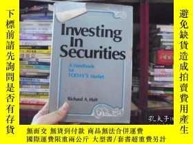 二手書博民逛書店Investing罕見In Securities (證券投資,關