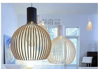 設計師美術精品館燈具餐廳吊燈現代簡約、白色鳥籠吊燈單頭創意臥室燈鐵藝