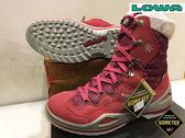 LOWA德國 GORE-TEX 防水保暖 中筒/高筒 雪靴 紅色 (女) 零碼出清特惠款