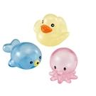 Toyroyal樂雅 - 洗澡玩具 透明軟膠動物組