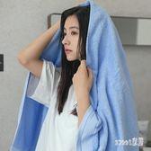浴巾 1浴巾2毛巾棉質成人柔軟男女嬰兒吸水可愛韓版厚浴巾套裝 LN3484 【Sweet家居】