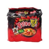 韓國 SAMYANG 三養 火辣雞肉風味湯麵145g x 5包(整袋裝)【小三美日】