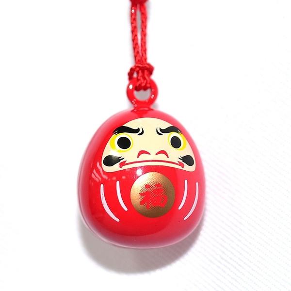 達摩不倒翁 鈴鐺 吊飾 日本製