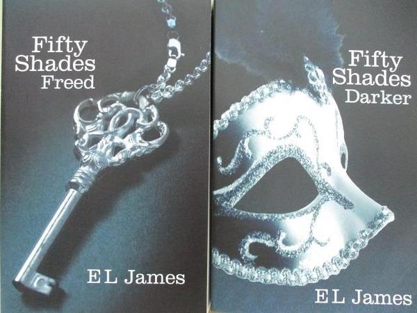 【書寶二手書T4/原文小說_AI4】Fifty Shades Freed_Fifty Shades Darker_2本合售