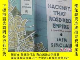二手書博民逛書店hackney罕見that rose-red empire a