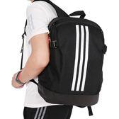 Adidas Bp Power Iv M 黑 白 運動休閒後背包 筆電包 休閒風格 運動 健身 大學包 BR5864