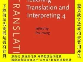 二手書博民逛書店Teaching罕見Translation And Interpreting 4Y255562 Languag