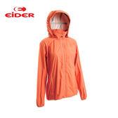 [EiDER] 女防水透氣超輕連帽外套 - 甜瓜黃 (EIT2602-7600)
