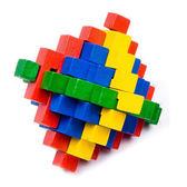 孔明鎖兒童成人益智木製智力玩具套裝魯班鎖解鎖解環游戲【販衣小築】